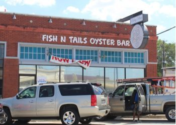 Garland seafood restaurant Fish N' Tails Oyster Bar