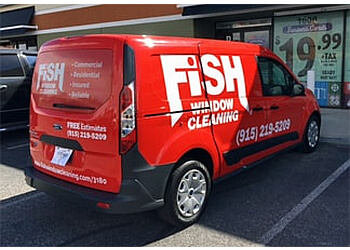 El Paso window cleaner Fish Window Cleaning