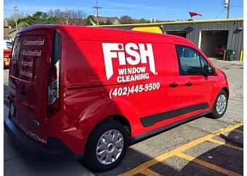 Omaha window cleaner Fish Window Cleaning