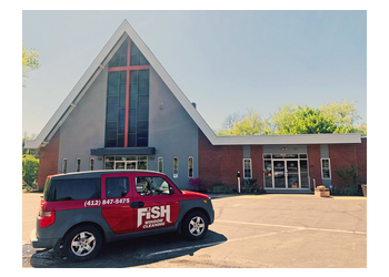 Pittsburgh window cleaner Fish Window Cleaning
