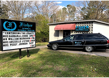 Durham funeral home Fisher Memorial Funeral Parlor