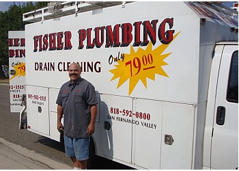 Simi Valley plumber Fisher Plumbing