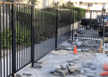 Irvine fencing contractor Five Brothers Fence