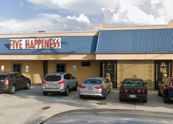 New Orleans chinese restaurant Five Happiness