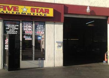 Concord car repair shop Five Star Automotive