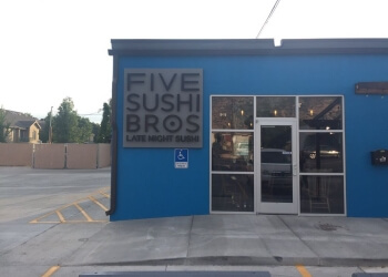Provo sushi Five Sushi Brothers