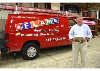 Warren hvac service Flame Furnace