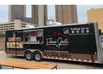 Corpus Christi food truck Flamin' Grills