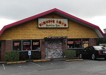 Wilmington mexican restaurant Flaming Amy's Burrito Barn