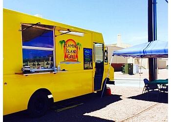 El Paso food truck Flaming Island Grill