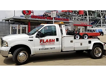 Nashville towing company Flash Wrecker Service