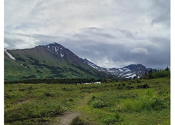 Anchorage hiking trail Flattop Mountain Trail