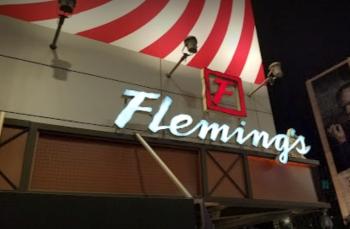 Los Angeles steak house Fleming's Prime Steakhouse & Wine Bar