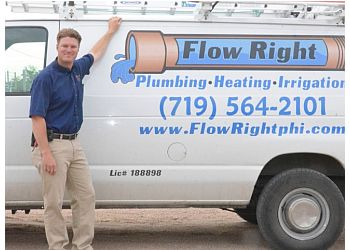 Pueblo plumber Flow Right Plumbing Heating & Irrigation, Inc.