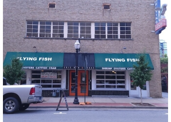 Little Rock seafood restaurant Flying Fish