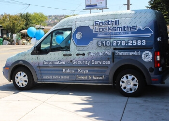 Hayward locksmith Foothill Locksmiths Inc.