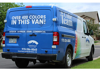 Fort Collins painter Foothills Painting