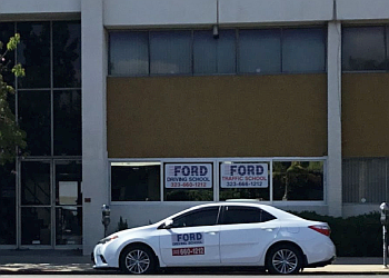 Los Angeles driving school Ford Driving School
