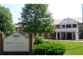 Washington assisted living facility Forest Hills of DC
