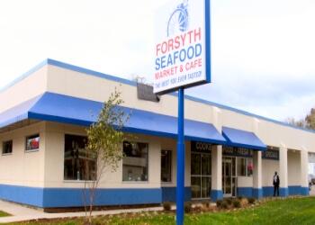 Winston Salem seafood restaurant Forsyth Seafood Market & Cafe