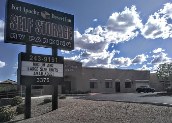 Las Vegas storage unit Fort Apache Desert Inn Self Storage