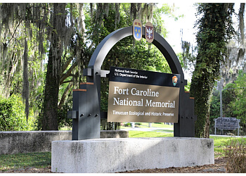 Jacksonville landmark Fort Caroline National Memorial
