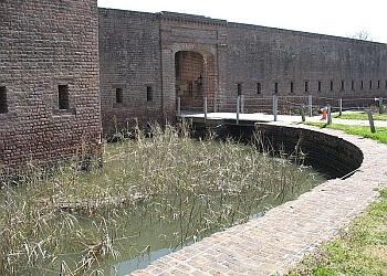 Savannah landmark Fort James Jackson