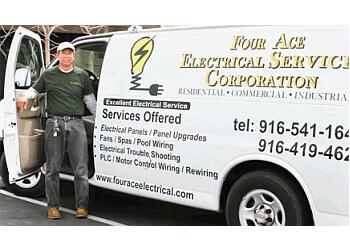 Sacramento electrician Four Ace Electrical Services Corporation