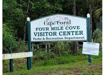 Cape Coral hiking trail Four Mile Cove Ecological Preserve Trail