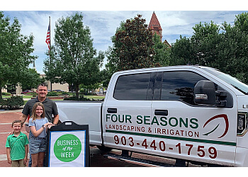 Laredo landscaping company Four Seasons Landscaping & Irrigation
