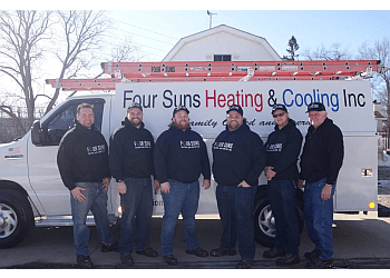 Naperville hvac service Four Suns Heating and Cooling, Inc.