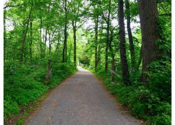 Fort Wayne hiking trail Fox Island County Park