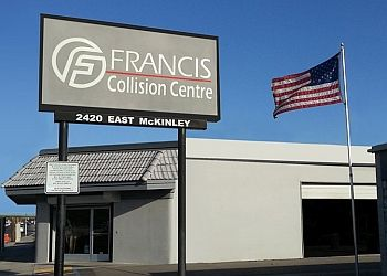 Fresno auto body shop Francis Collision Centre