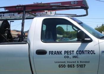 Fremont pest control company Frank Pest Control Co., Inc.