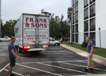 Cape Coral moving company Frank and Sons Moving and Storage Inc.