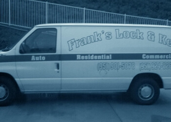 Moreno Valley locksmith Frank's Lock & Key