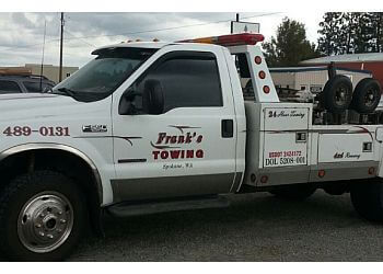 Spokane towing company Franks Towing