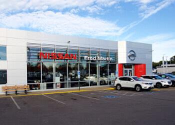 Akron car dealership FRED MARTIN NISSAN