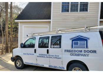 Raleigh garage door repair Freedom Door Company