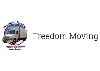 Corona moving company Freedom Moving
