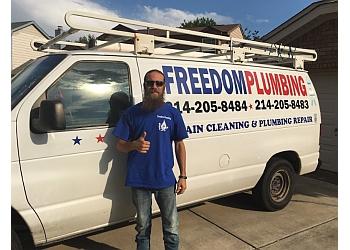 Grand Prairie plumber Freedom Plumbing LLC