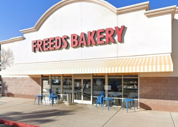 Las Vegas cake Freed's Bakery