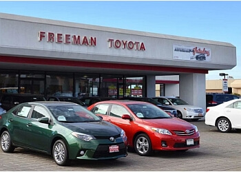 Santa Rosa car dealership Freeman Toyota