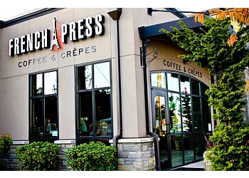 Salem cafe French Press Coffee & Crepes