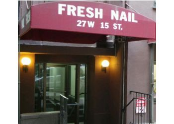 New York nail salon Fresh nail