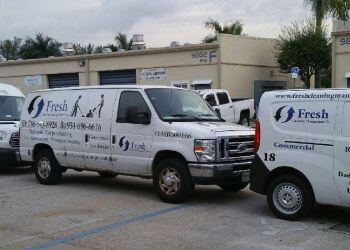 Hialeah carpet cleaner Fresh Cleaning Management Co.