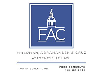 Tallahassee personal injury lawyer Friedman, Abrahamsen & Cruz - Attorneys At Law