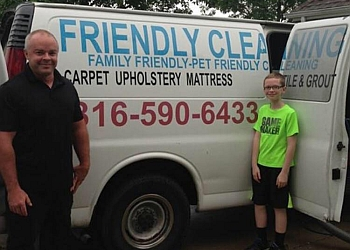 Kansas City carpet cleaner Friendly Cleaning Services