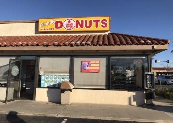 Orange donut shop Friendly Donuts