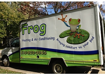 Nashville electrician Frog Heating, Air & Electrical